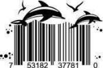 Universal Product Code Art - UPC Barcode Dolphin