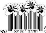 Universal Product Code Art - UPC Barcode Flower