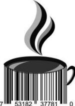 Universal Product Code Art - UPC Barcode Coffee