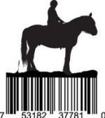 Universal Product Code Art - UPC Barcode Horse