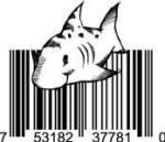 Universal Product Code Art - UPC Barcode Shark