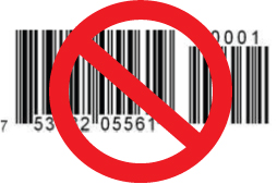 Greeting card Barcodes