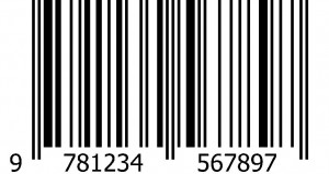 ISBN Barcode using EAN symbology