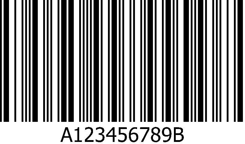 Codabar Bar code