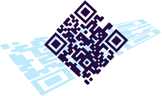 Creative QR Code with background artwork